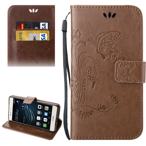 Buy Huawei P9 Lite Crazy Horse Texture Printing Horizontal Flip Leather Case with Holder & Card Slots & Wallet & Lanyard, Brown for $2.44 in SUNSKY store