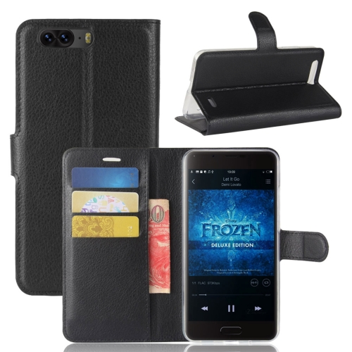 Buy Blackview P6 Litchi Texture Horizontal Flip Leather Case with Holder & Card Slots & Wallet,Small Quantity Recommended before Blackview P6 Launching, Black for $2.67 in SUNSKY store