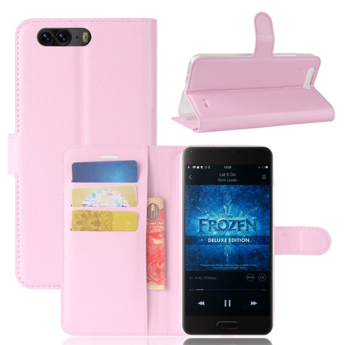 Buy Blackview P6 Litchi Texture Horizontal Flip Leather Case with Holder & Card Slots & Wallet,Small Quantity Recommended before Blackview P6 Launching, Pink for $2.67 in SUNSKY store