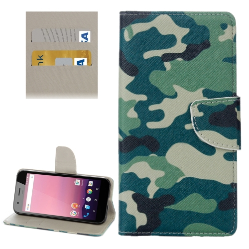Buy For Google Pixel XL Camouflage Pattern Horizontal Flip Leather Case with Holder & Card Slots & Wallet for $2.31 in SUNSKY store