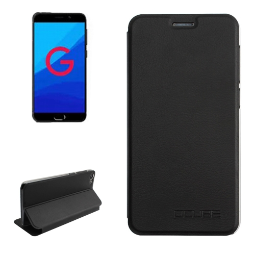 Buy OCUBE for UMIDIGI G Litchi Texture Horizontal Flip Leather Case with Holder, Black for $3.95 in SUNSKY store
