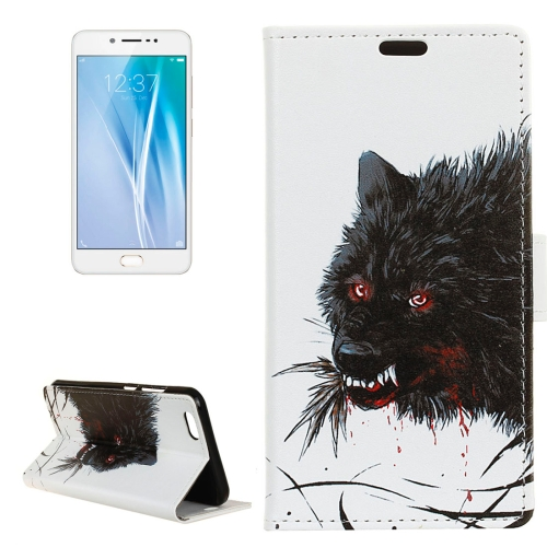 Buy Vivo V5 / Y67 Wolf Pattern Horizontal Flip Leather Case with Holder & Card Slots & Wallet for $3.23 in SUNSKY store