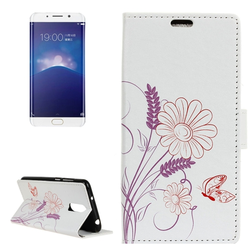Buy Vivo X Play 6 Flower Pattern Horizontal Flip Leather Case with Holder & Card Slots & Wallet for $3.23 in SUNSKY store