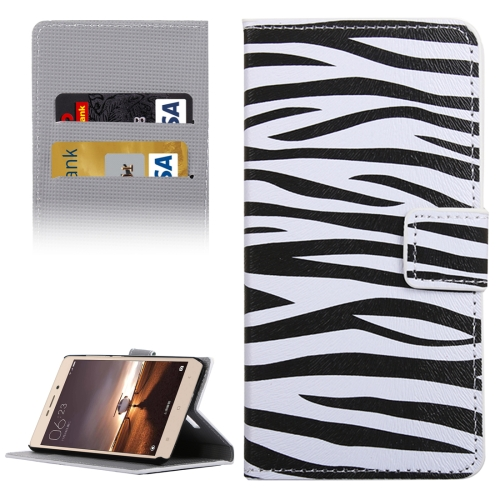 Buy Xiaomi Redmi Note 3 Zebra Patterns Horizontal Flip Leather Case with Holder & Card Slots & Wallet for $2.30 in SUNSKY store