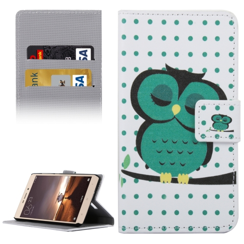 Buy Xiaomi Redmi Note 3 Owl in Deep Thought Patterns Horizontal Flip Leather Case with Holder & Card Slots & Wallet for $2.30 in SUNSKY store