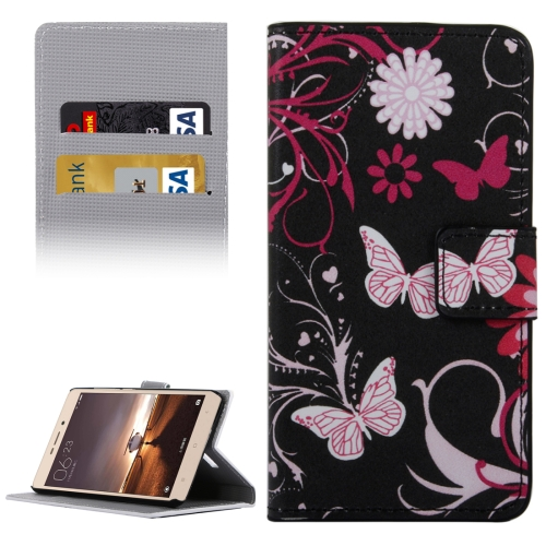 Buy Xiaomi Redmi Note 3 Butterflies Love Flowers Patterns Horizontal Flip Leather Case with Holder & Card Slots & Wallet for $2.30 in SUNSKY store