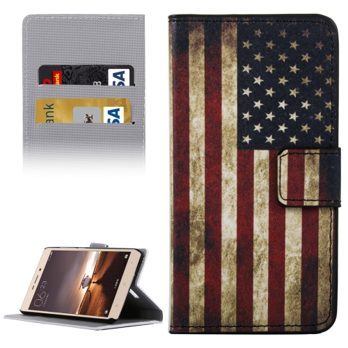 Buy Xiaomi Redmi Note 3 USA Flag Patterns Horizontal Flip Leather Case with Holder & Card Slots & Wallet for $2.30 in SUNSKY store