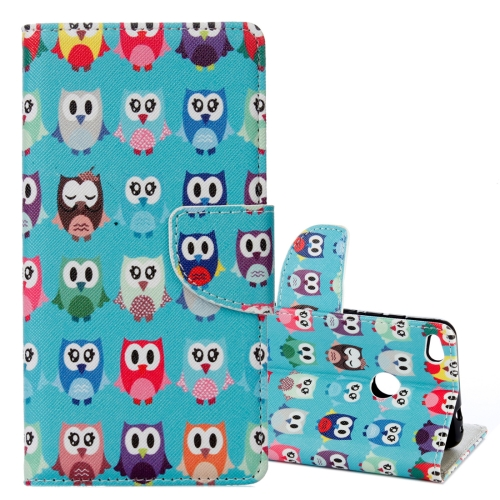 Buy Xiaomi Redmi 4X Lovely Cartoon Owls Pattern Horizontal Flip Leather Case with Holder & Card Slots & Wallet for $2.41 in SUNSKY store