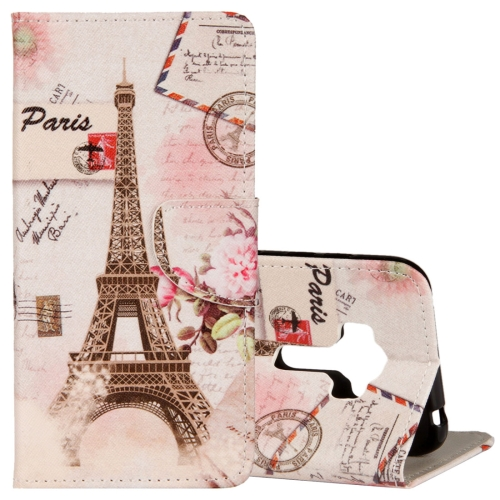 Buy For Asus ZenFone 4 Selfie Pro ZD552KL Eiffel Tower Pattern Horizontal Flip Leather Case with Holder & Card Slots & Wallet for $2.42 in SUNSKY store