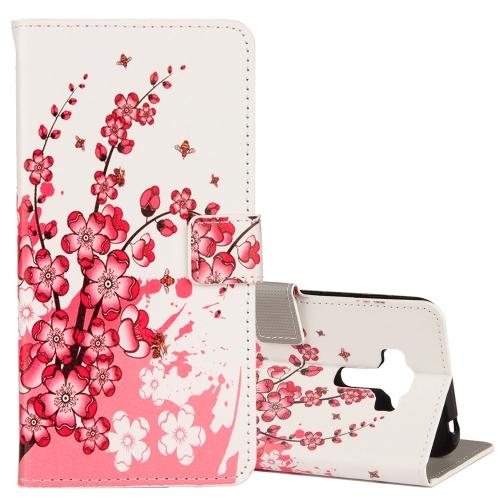 Buy For Asus ZenFone 4 Selfie Pro ZD552KL Plum Blossom Pattern Horizontal Flip Leather Case with Holder & Card Slots & Wallet for $2.42 in SUNSKY store