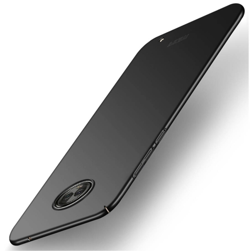 MOFI for Motorola Moto G6 Plus Frosted PC Ultra-thin Edge Fully Wrapped Protective Back Cover Case(Black) protective frosted ultra thin pp back cover case for iphone 6 plus 5 5 black