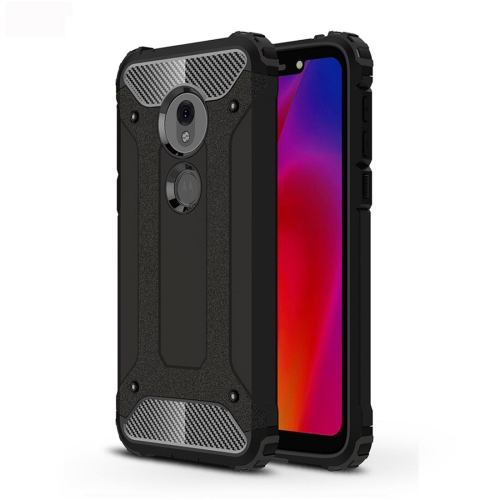 Magic Armor TPU + PC Combination Case for Motorola Moto G7 Play (Black)