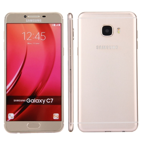 Buy For Samsung Galaxy C7 / C700 Original Color Screen Non-Working Fake Dummy, Display Model, Gold for $3.95 in SUNSKY store