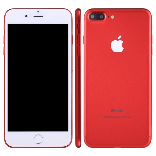 For iPhone 7 Plus Dark Screen Non-Working Fake Dummy, Display Model, Red