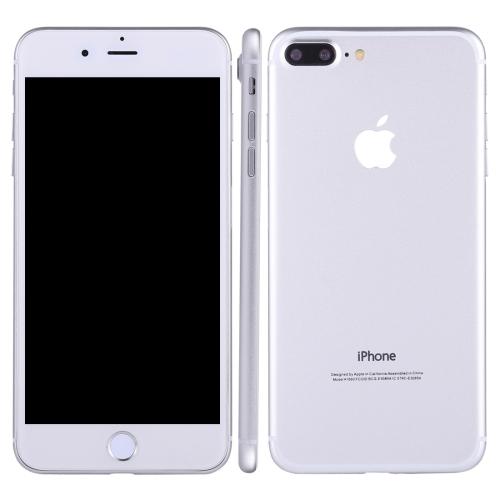 Buy For iPhone 7 Plus Dark Screen Non-Working Fake Dummy, Display Model, Silver for $4.76 in SUNSKY store