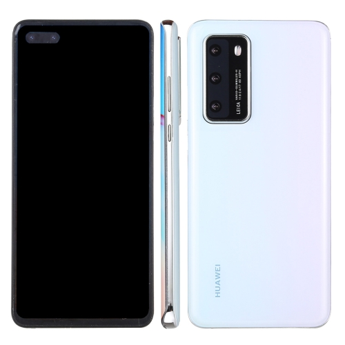 Black Screen Non-Working Fake Dummy Display Model for Huawei P40 5G (White)  - buy with discount