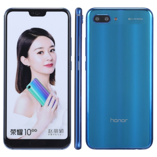 Original Color Screen Non-Working Fake Dummy Display Model for Huawei Honor 10(Blue)