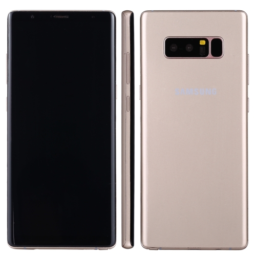 For Galaxy Note 8 Dark Screen Non-Working Fake Dummy Display Model(Gold) original for galaxy note 8 color screen non working fake dummy display model grey