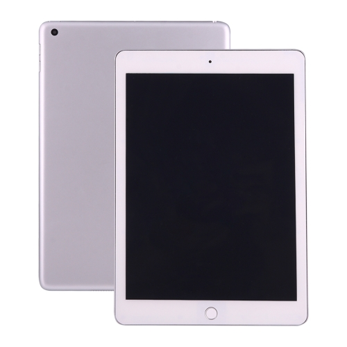 For iPad 9.7 (2017) Dark Screen Non-Working Fake Dummy Display Model (Silver + White)