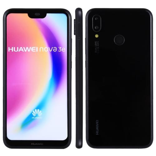 For Huawei Nova 3e (P20 Lite) Color Screen Non-Working Fake Dummy Display Model(Black)