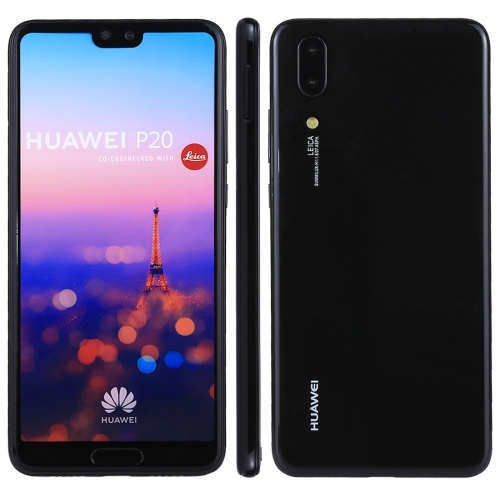 For Huawei P20 Color Screen Non-Working Fake Dummy Display Model(Black)