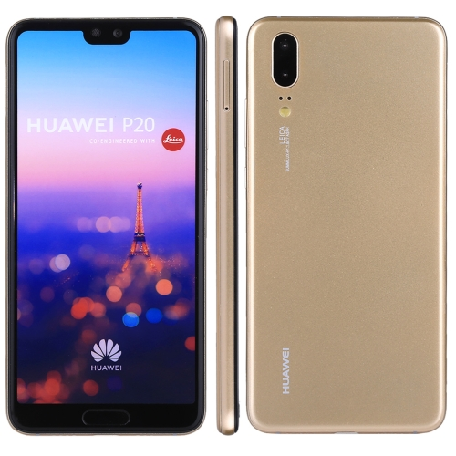 For Huawei P20 Color Screen Non-Working Fake Dummy Display Model(Gold)