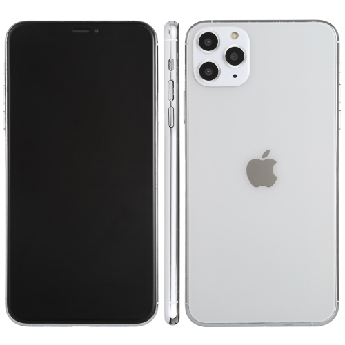 Black Screen Non-Working Fake Dummy Display Model for iPhone 11 Pro(Silver)
