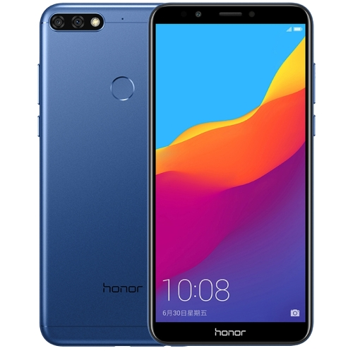Huawei Honor 7C LND-AL30, 3GB+32GB, Not Support Google Play,China Version, Dual Back Cameras, Face & Fingerprint Identification, 5.99 inch EMUI 8.0 Base on Android 8.0 Qualcomm Snapdragon 450 Octa Core up to 1.8GHz,  Network: 4G(Blue) Support Google Play