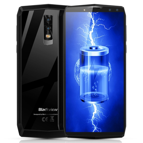 [HK Stock] Blackview P10000 Pro, 4GB+64GB, Dual Back Cameras + Dual Front Cameras,  Face & Fingerprint Identification, 11000mAh Battery, 5.99 inch Android 7.1 MTK6763 Octa Core up to 2.0GHz, OTG, Network: 4G(Grey)