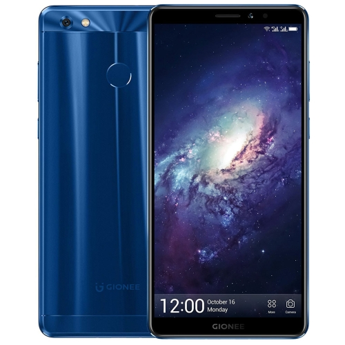 Gionee M7 Power, 4GB+64GB, Not Support Google Play, Fingerprint Identification, 5000mAh Battery, 6.0 inch Android 7.1 Qualcomm Snapdragon MSM8940 Octa Core up to 1.4GHz, Network: 4G, Dual SIM(Blue) lenovo tab4 plus tb 8704n 4g call tablet 8 inch 4gb 64gb android 7 1 qualcomm snapdragon 625 octa core up to 2 0ghz support dual sim