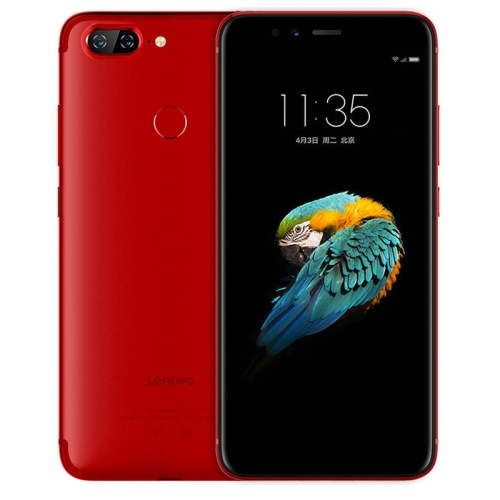 Lenovo S5 K520, 3GB+32GB, Dual Back Cameras, Face & Fingerprint Identification, 5.7 inch ZUI 3.7 (Android O) Qualcomm Snapdragon 625 Octa Core up to 2.0GHz, Network: 4G, Dual SIM (Red) lenovo tab4 plus tb 8704n 4g call tablet 8 inch 4gb 64gb android 7 1 qualcomm snapdragon 625 octa core up to 2 0ghz support dual sim