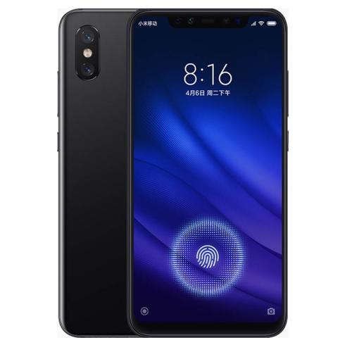 Xiaomi Mi 8 Pro, 6GB+128GB, Screen Fingerprint Identification, IR Face ID, Dual AI Rear Cameras, 6.21 inch Notch Screen MIUI 10 Qualcomm Snapdragon 845 AIE Octa Core up to 2.8GHz, Network: 4G, Dual SIM(Obsidian Black)