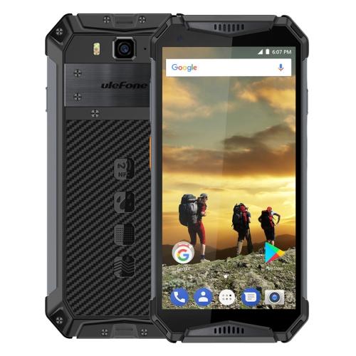[HK Stock] Ulefone Armor 3 Rugged Phone, Dual 4G, 4GB+64GB, IP68/IP69K Waterproof Dustproof Shockproof, Face ID & Fingerprint Identification, 10300mAh Battery, 5.7 inch Android 8.1 Oreo Helio P23(MKT6763T) Octa-core 64-bit up to 2.5GHz, Network: 4G, Dual