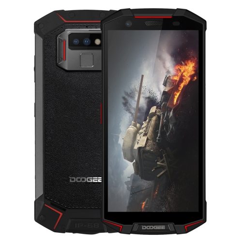 [HK Stock] DOOGEE S70 Rugged Phone, 6GB+64GB, IP68/IP69K Waterproof Dustproof Shockproof, MIL-STD-810G, 5500mAh Battery, Dual Back Cameras, Fingerprint Identification, 5.99 inch Android 8.1 MTK Helio P23 Octa Core up to 2.5GHz, Network: 4G(Red)