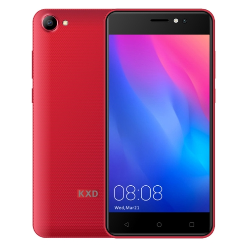 [HK Stock] KEN XIN DA W50, 1GB+8GB, 5.0 inch Android 6.0 MTK6580 Quad Core up to 1.3GHz, Network: 3G, Dual SIM(Red) фото