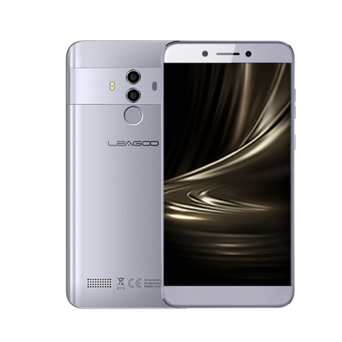 [HK Stock] LEAGOO T8, 2GB+16GB, Dual Back Cameras, Face ID & Fingerprint Identification, 5.5 inch Android 8.1 MTK6750T Octa Core up to 1.5GHz, Network: 4G, Dual SIM, EU Version(Grey)