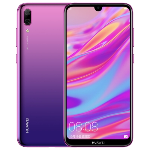 Huawei Enjoy 9 / Y7 2019, 3GB+32GB, China Version, Dual Back Cameras, 4000mAh Battery, Face Identification, 6.26 inch EMUI 8.2 (Android 8.1) Qualcomm Snapdragon 450 Octa Core up to 1.8GHz, Network: 4G(Purple)