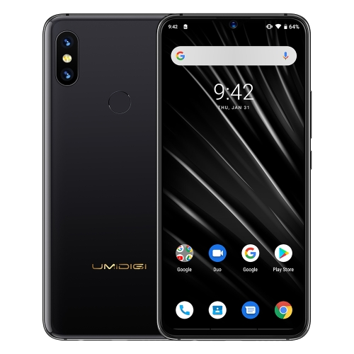[HK Stock] UMIDIGI S3 Pro, 48MP Camera, Global Dual 4G, 6GB+128GB, Dual Back Cameras, 5150mAh Battery, Face ID & Fingerprint Identification, 6.3 inch Android 9.0 MTK Helio P70, 4xCortex-A73 up to 2.1GHz,4xCortex-A53 up to 2.0GHz, Network: 4G, Dual SIM, NF