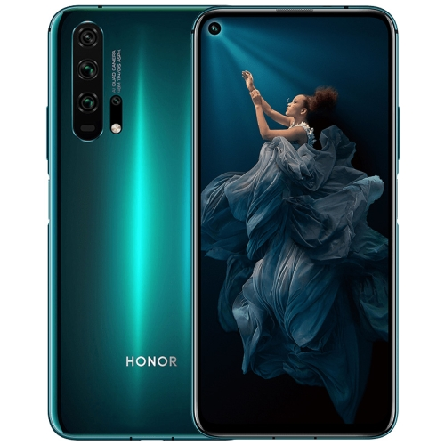 Huawei Honor 20 Pro, 48MP Camera, 8GB+128GB, China Version, Quad Back Cameras, Fingerprint Identification, 6.26 inch Magic UI 2.1.0 (Android 9.0) HUAWEI Kirin 980 Octa Core up to 2.6GHz, Network: 4G, NFC, Not Support Google Play(Green) фото