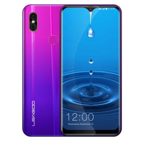[HK Stock] LEAGOO M13, 4GB+32GB, Dual Back Cameras, Face ID & Fingerprint Identification, 6.1 inch Water-drop Screen Android 9.0 MTK6761 Quad Core up to 2.0GHz, Network: 4G, Dual SIM, OTG (Twilight)