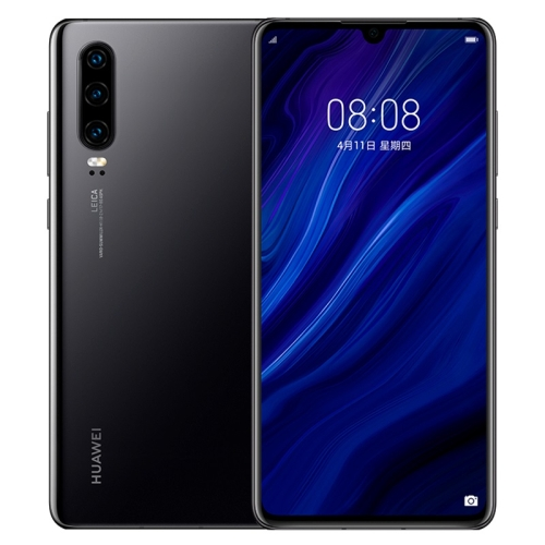 Huawei P30 ELE-AL00, 8GB+128GB, China Version, Triple Back Cameras, Face ID & Screen Fingerprint Identification, 6.1 inch Dot-notch Screen EMUI 9.1 Android 9.0 HUAWEI Kirin 980 Octa Core up to 2.6GHz, Network: 4G, NFC(Jet Black) фото