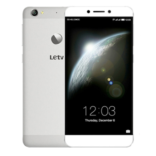 Letv LeEco Le 1S / X501, 3GB+16GB, Fingerprint Identification, 5.5 inch Android 5.0 MTK Helio X10 Turbo Octa Core, Network: 4G, Dual SIM(Silver)