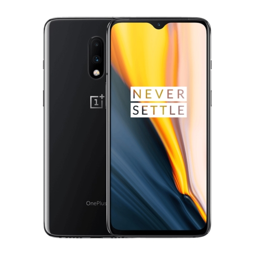 OnePlus 7, 48MP Camera, 12GB+256GB, Dual Back Cameras, Face Unlock & Screen Fingerprint Identification, 6.41 inch 2.5D Hydrogen OS (Android 9.0) Qualcomm Snapdragon 855 Octa Core up to 2.84GHz, NFC, Bluetooth 5.0, Network: 4G (Black)