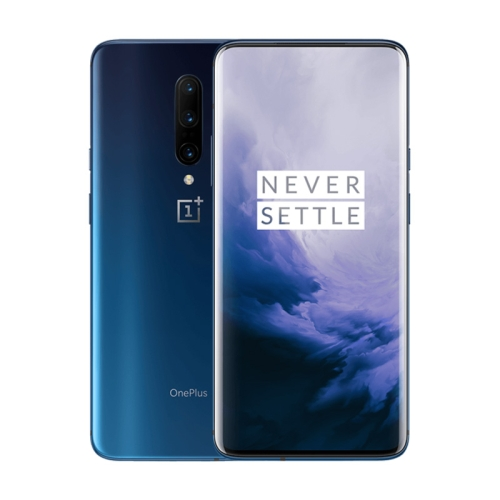 OnePlus 7 Pro, 48MP Camera, 12GB+256GB, Triple Back Cameras + Lifting Front Camera, Face Unlock & Screen Fingerprint Identification, 6.67 inch 3D Hydrogen OS (Android 9.0) Qualcomm Snapdragon 855 Octa Core up to 2.84GHz, NFC, Bluetooth 5.0, Network: 4G(Blue)