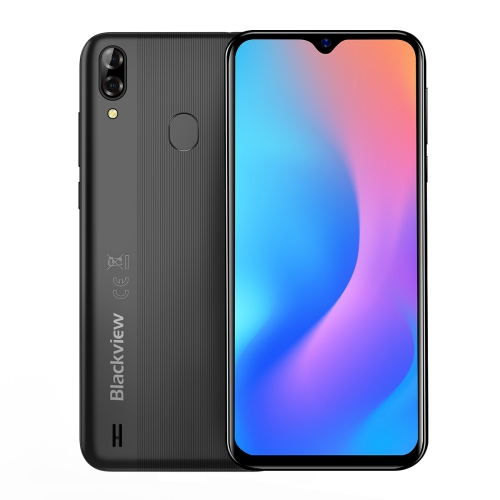 [HK Stock] Blackview A60 Pro, 3GB+16GB, Dual Rear Cameras, Face ID & Fingerprint Identification, 4080mAh Battery, 6.088 inch Waterdrop Screen Android 9.0 Pie MTK6761V/WB Quad Core up to 2.0GHz, Network: 4G, Dual SIM (Black)