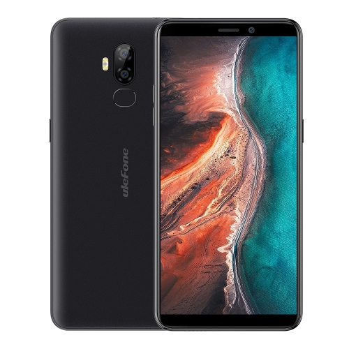 [HK Stock] Ulefone P6000 Plus, 3GB+32GB, Dual Back Cameras, Face ID & Fingerprint Identification, 6.0 inch Android 9.0 MTK6739WW Quad-core 64-bit up to 1.5GHz, Network: 4G, Dual SIM, OTG (Black)