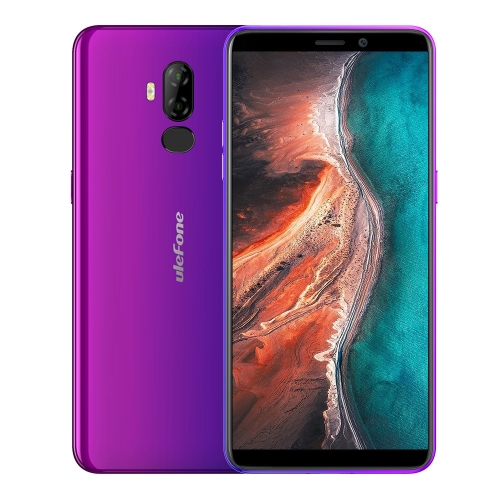 [HK Stock] Ulefone P6000 Plus, 3GB+32GB, Dual Back Cameras, Face ID & Fingerprint Identification, 6.0 inch Android 9.0 MTK6739WW Quad-core 64-bit up to 1.5GHz, Network: 4G, Dual SIM, OTG (Twilight)