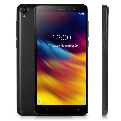 [HK Stock] DOOGEE X100, 1GB+8GB, 4200mAh Battery, 5.0 inch Android 8.1 GO MTK6580A Quad Core up to 1.3GHz, Network: 3G, OTA, Dual SIM(Black)