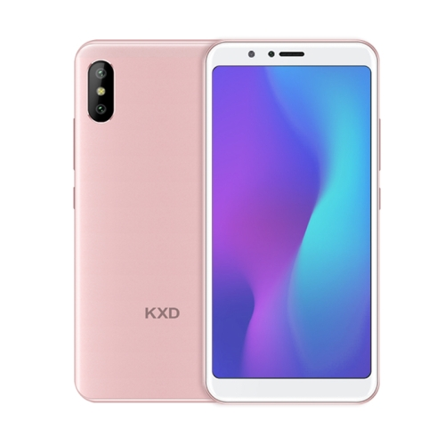 [HK Stock] KXD A6, 1GB+8GB, Dual Back Cameras, 5.5 inch Android 8.1 SC7731E Quad Core up to 1.3GHz, Network: 3G, Dual SIM (Pink)