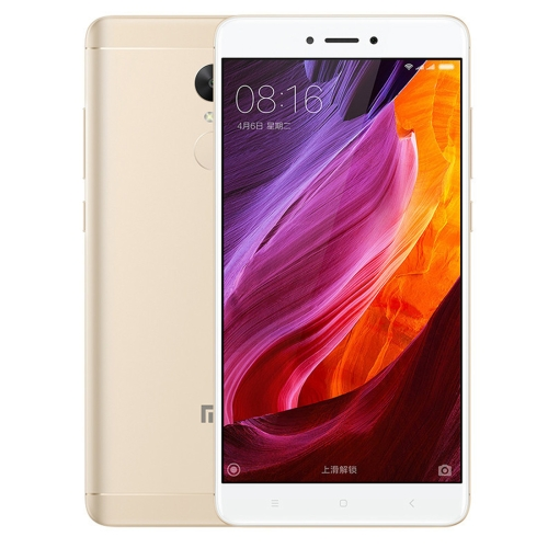 [HK Stock] Xiaomi Redmi Note 4X, 3GB+32GB, Official Global ROM, Fingerprint Identification, IR Remote Control, 5.5 inch MIUI 8.0 Qualcomm Snapdragon 625 Octa Core up to 2.0GHz, Network: 4G(Gold) global version xiaomi redmi 4x 3gb 32gb smartphone black